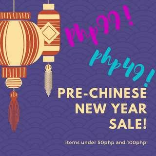 Pre Chinese New Year Sale!