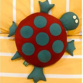 Red Tortoise Plush Toy