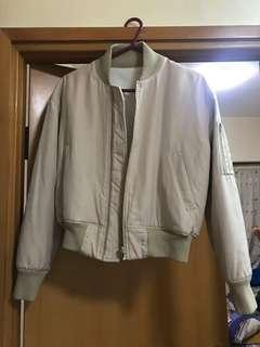 Lagunamoon beige bomber jacket