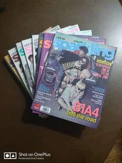 Old Sparkling Magazines