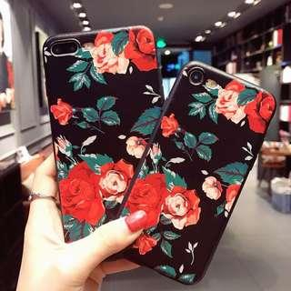 Iphone soft case FLOWER