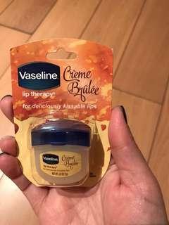Vaseline Lip Therapy crème brûlée flavour 7g
