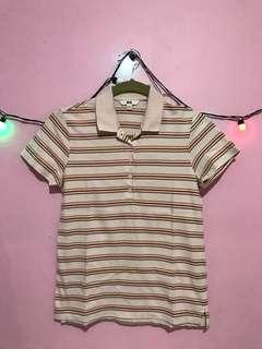 UNIQLO Stripe Polo Shirt