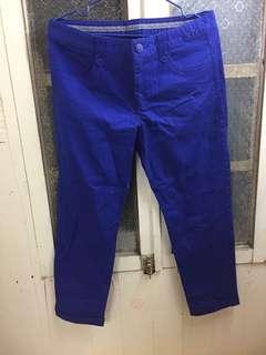 🚚 全新HANGTEN 藍色九分褲/含標/版型正常