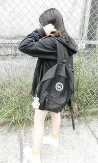 🚚 Hype經典黑色後背包