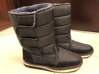 🚚 保暖太空雪靴(男)(黑)