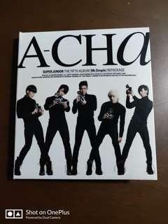 Super Junior A-cha 5th album mr. simple repackaged