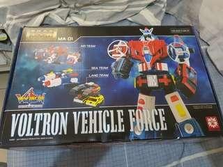 Miracle Metal Works MA-01 Vehicle Voltron Force Improved Version (no sticker), Back in Box