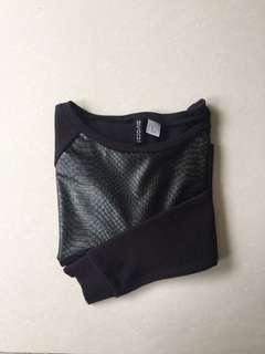 H&M Cropped Top / Long Sleeve / Sweater