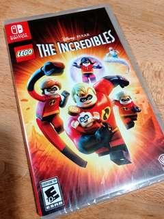 👍🏻🕹Nintendo Switch LEGO The Incredibles Brand New