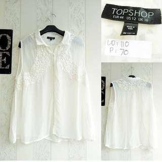 Topshop White #onlinesale