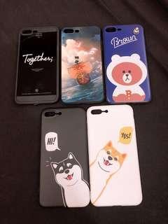🚚 海賊王🏴☠️/熊大/哈士奇/柴犬手機殼/軟殼IPhone 8 plus