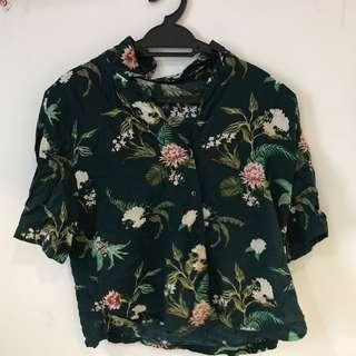 Pull & Bear Floral Top