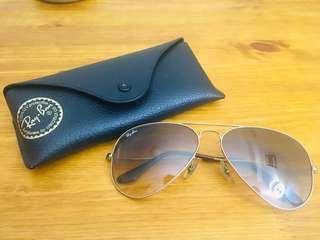 Ray Ban 太陽眼鏡 Aviators