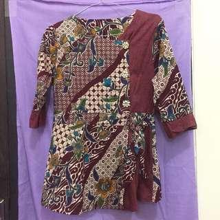 Baju batik / batik kerja