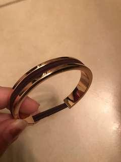 Rose Gold Hair Tie Bracelet