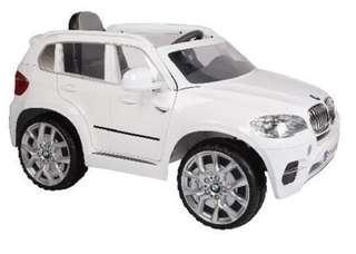 BMW X5搖控電動車 兒童電動車 雙驅雙馬達 原廠授權 生日禮物  雙門可開 兒童節禮物