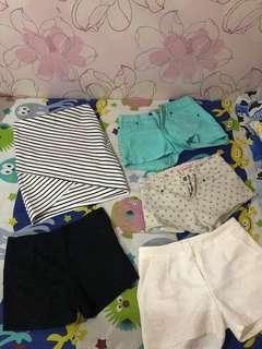 1 set pants& rok