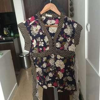 Atasan sepeeti kimono