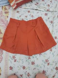 Celana pendek gowigasa high waist