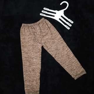 Legging panjang coklat // celana anak
