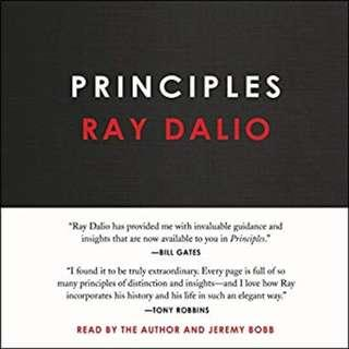 Principles Life and Work by Ray Dalio (Best Seller, Audio and Soft Copy)