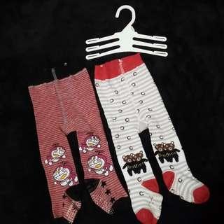 Legging motif tutup kaki bayi