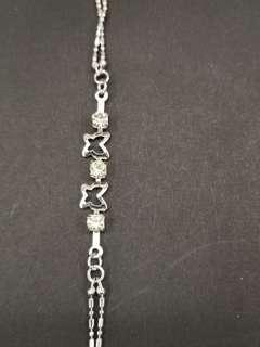 Anklets with shiny stones