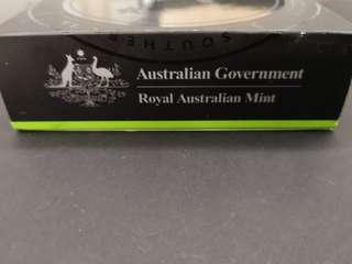 Australian mint silver proof coin ~ Pavo