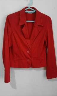 Crop Blazer by Elsano Collection