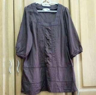 [NEW] East India Brown Blouse