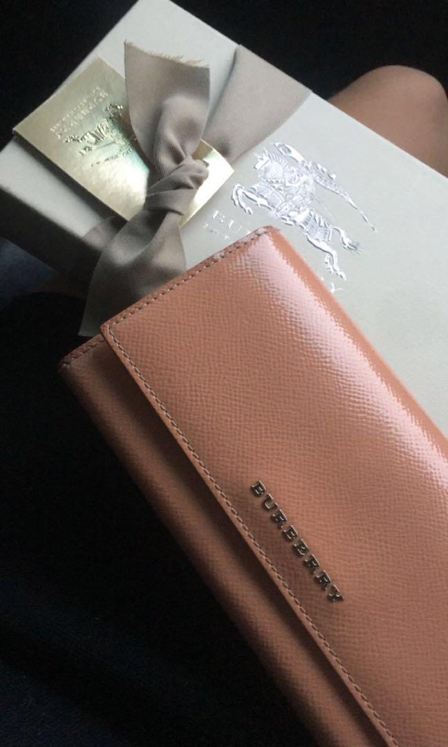 authentic burberry womens wallet