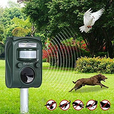 BESTVA Solar Animal Repeller, Electronics, Others on Carousell