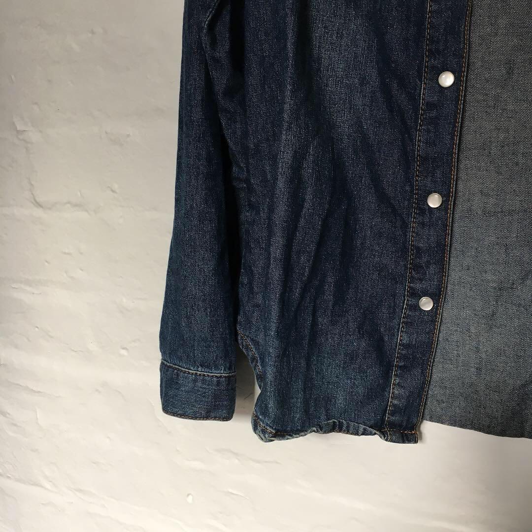 Blue Denim Button Down | Brand: Topshop Petite | Size 10