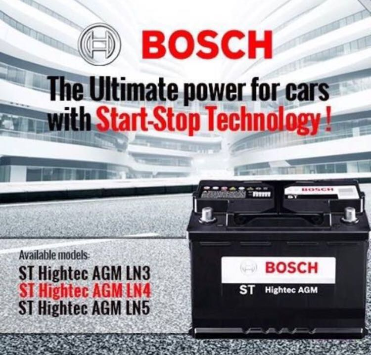 Bosch Agm Battery Best Price Car Accessories On Carousell