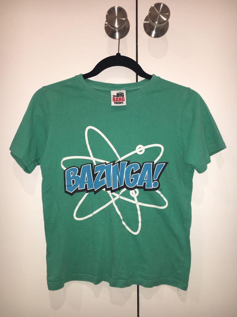 Boys 'Bazinga!' Big Bang Theory Tee