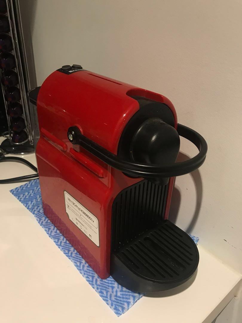Breville coffee machine (nespresso)