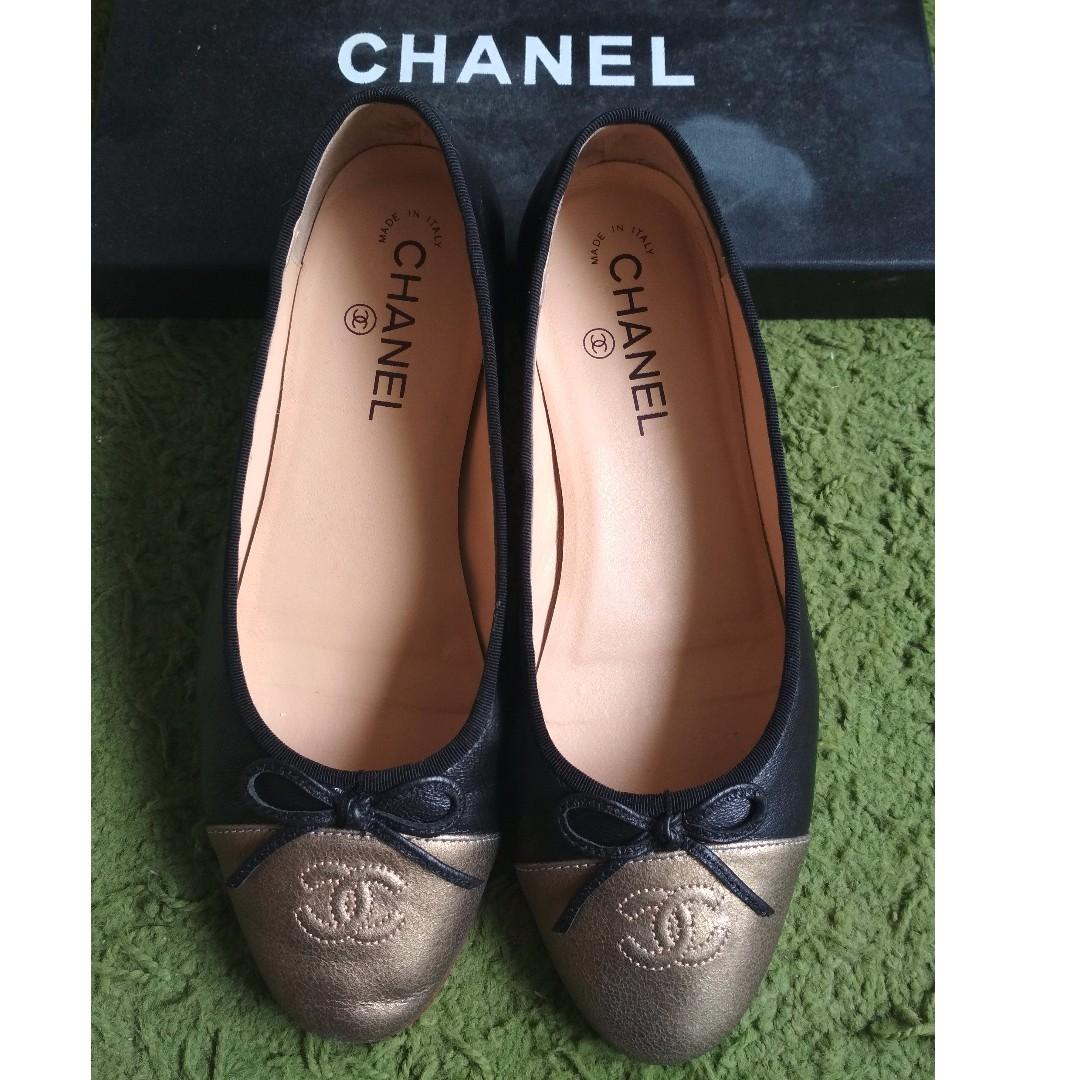 71d5559949 Chanel Ballerina flats Silver Chanel Ballerina flats Great t