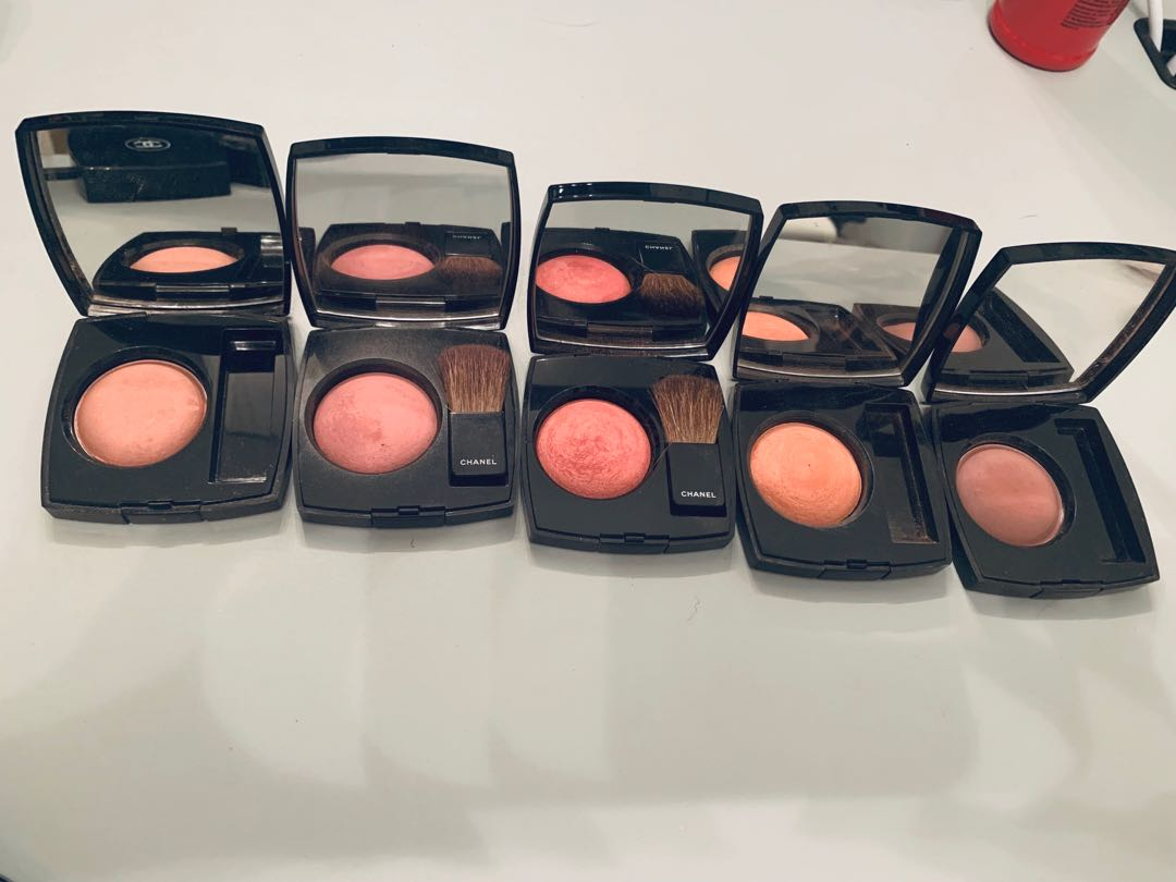 Chanel blushes barely used