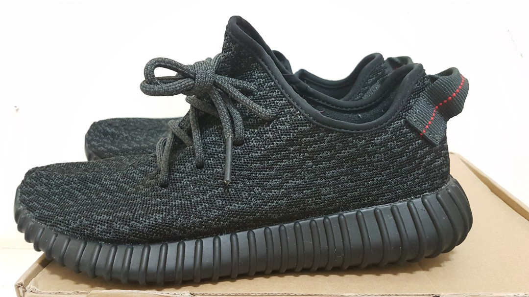 CHEAPEST ADIDAS YEEZY BOOST 350 PIRATE BLACK 407470b49