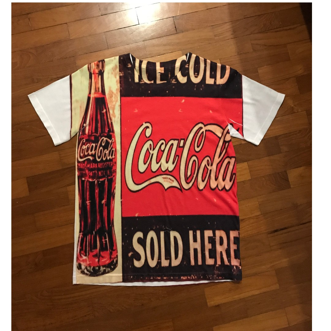 a4aa7a00d8c Coca Cola T Shirt, Women's Fashion, Clothes, Tops on Carousell