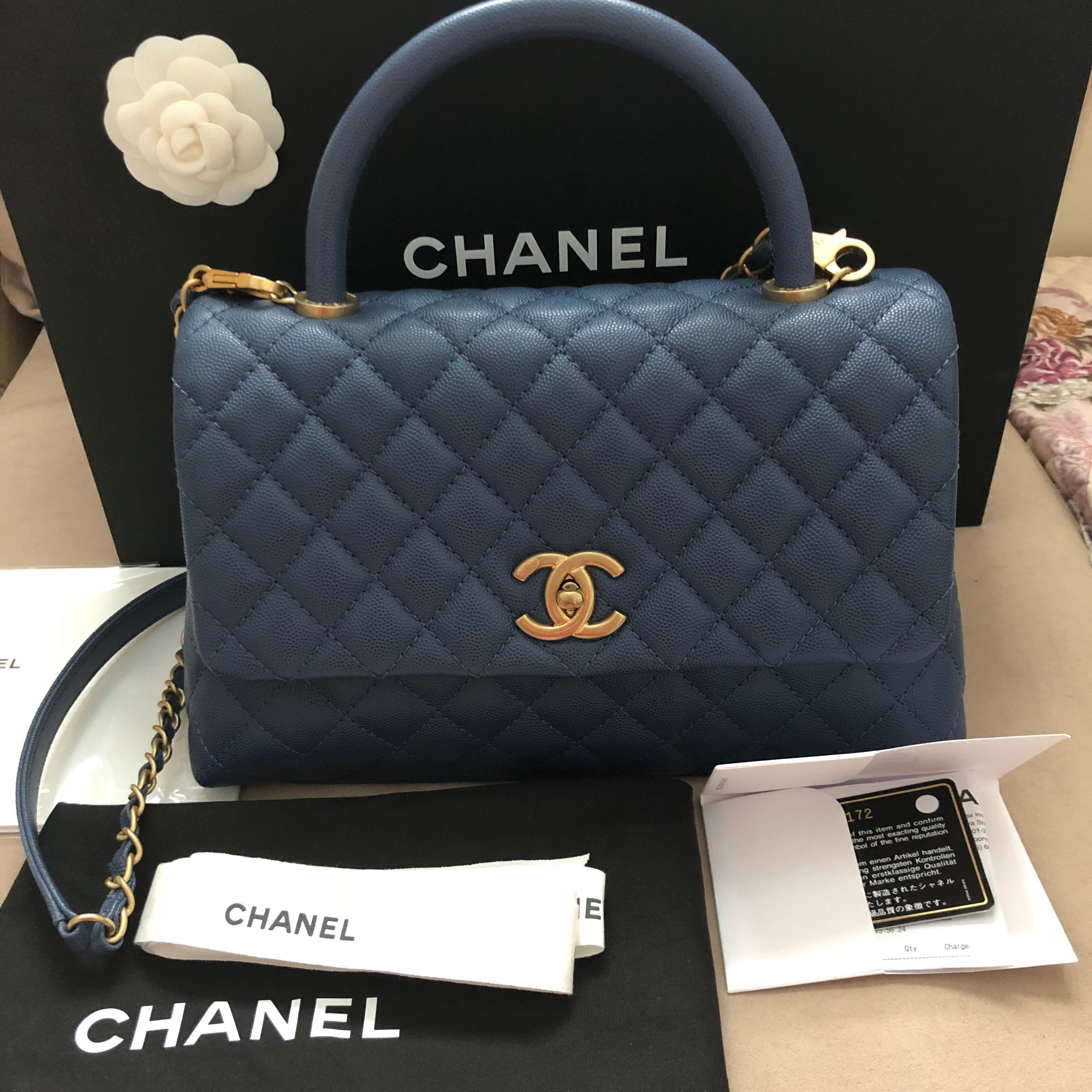 810b1c71df65 Deposit received-Chanel Coco Handle, Luxury, Bags & Wallets ...
