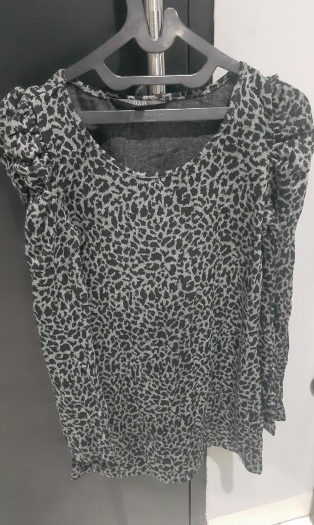 Dress Leopard Black