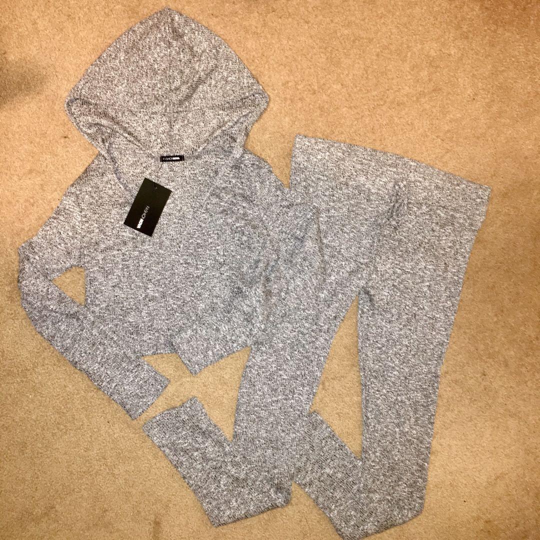 Fashion Nova Wanderlust Set - grey as seen on Kylie Jenner!