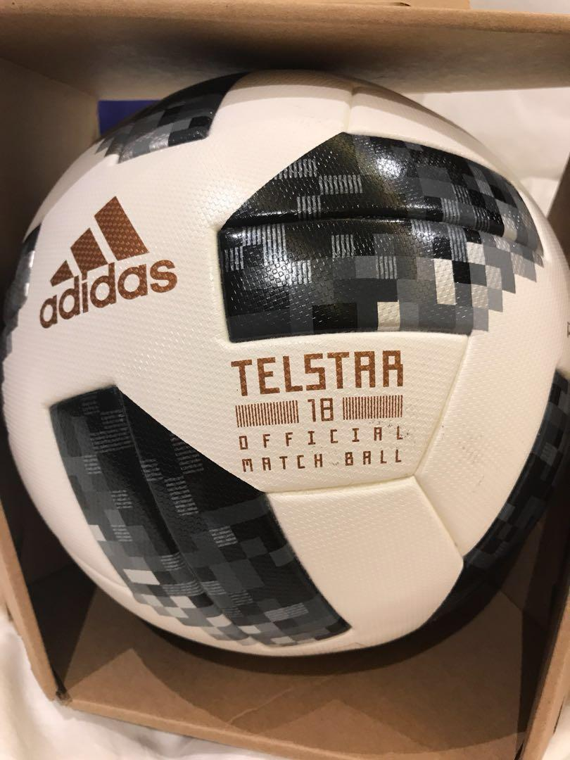 amanecer Hervir pago  Fifa World Cup - Russia 2018 Adidas Telstar Official Match Ball, Sports,  Sports & Games Equipment on Carousell