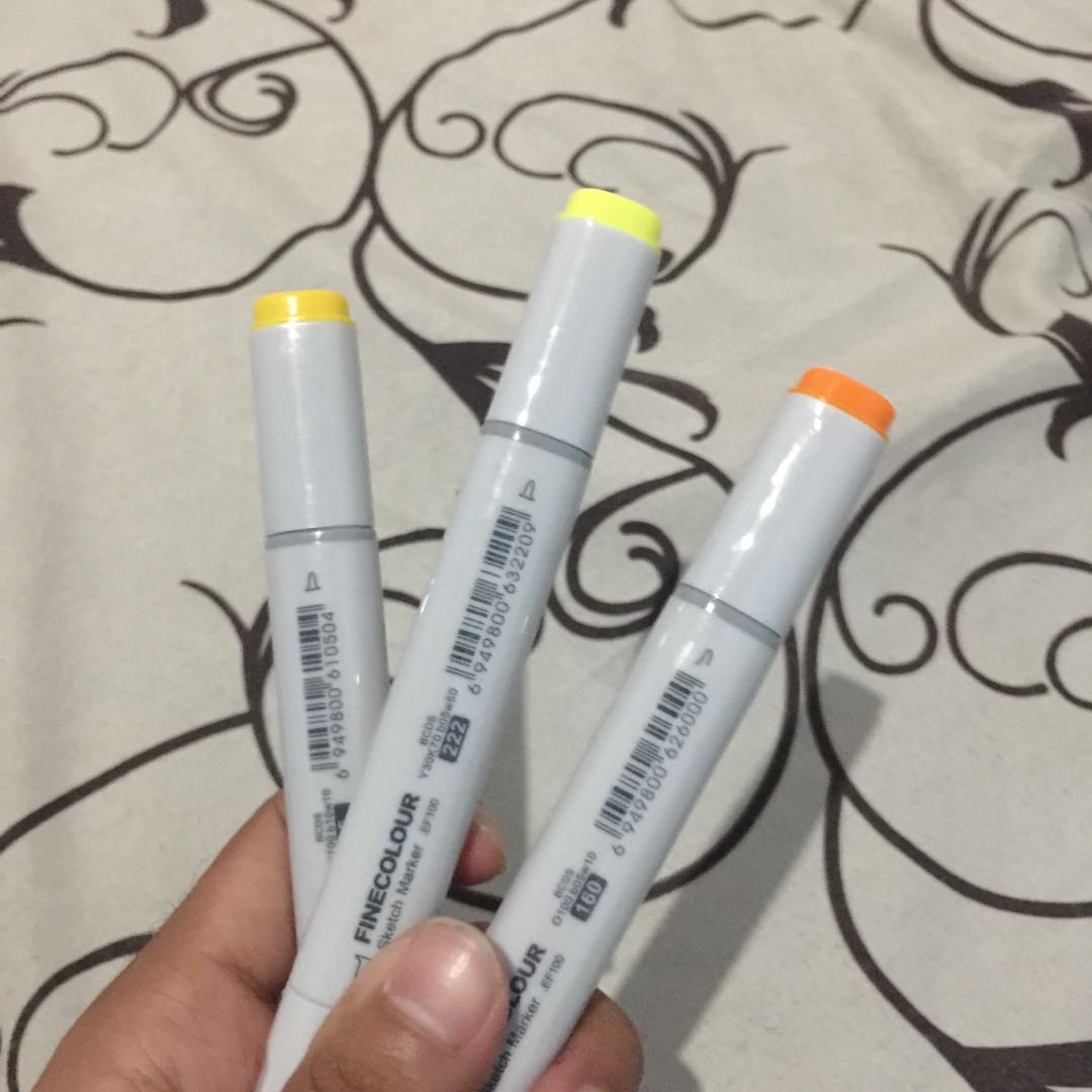 Finecolour sketch marker copic