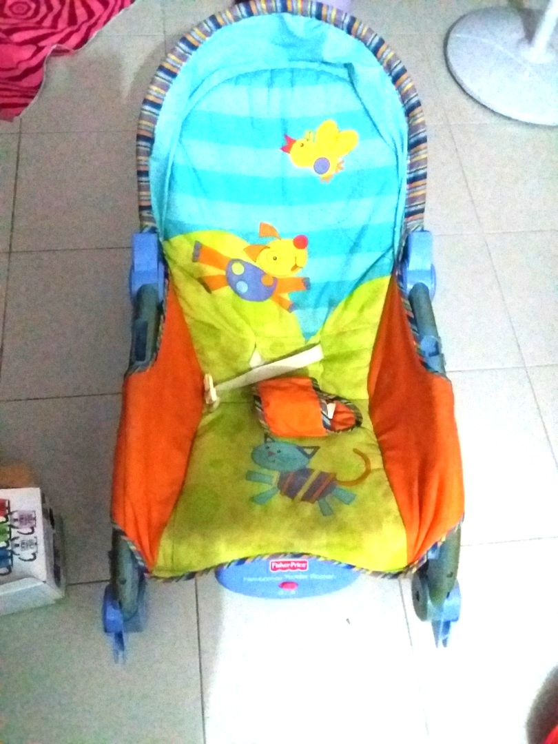 dc6a4b73159 Fisherprice bouncer rocker at blessing price