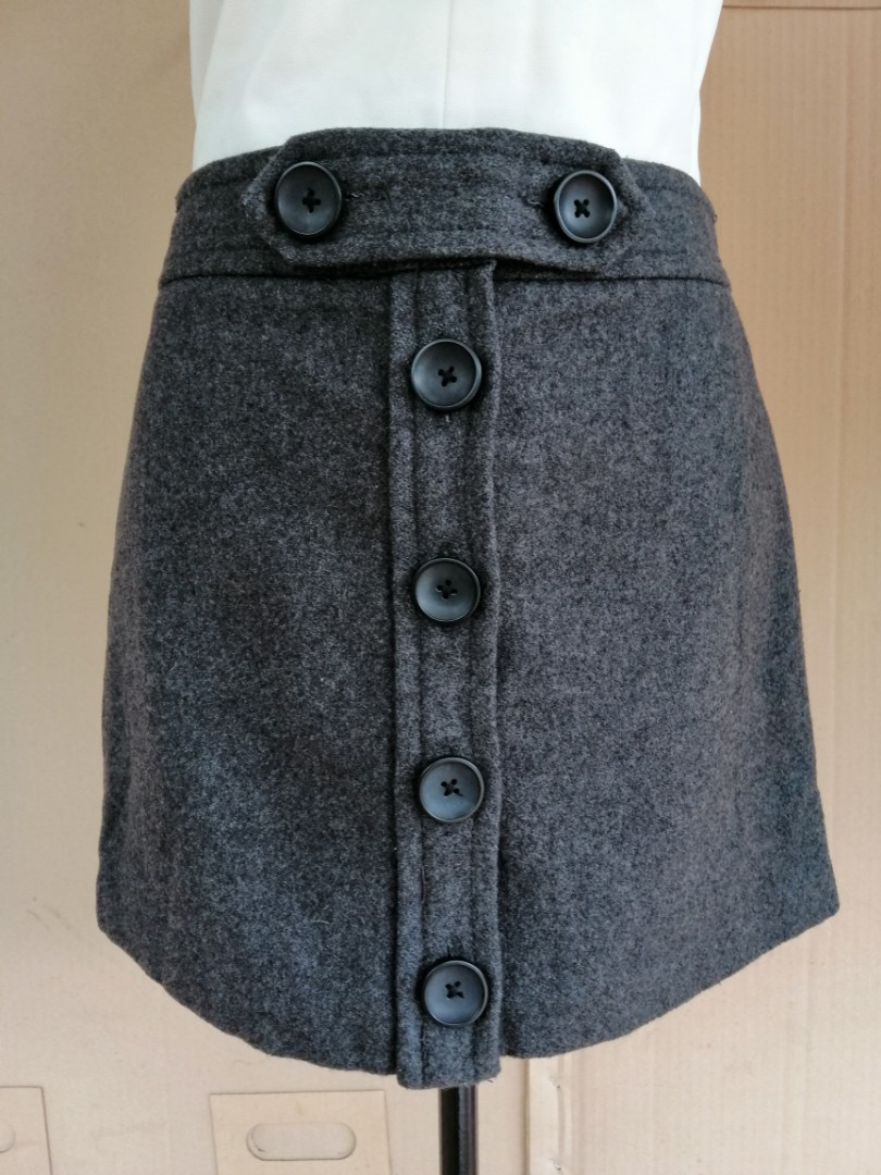 60bad7977 Gap Wool Mini-skirt, Women's Fashion, Clothes, Dresses & Skirts on ...
