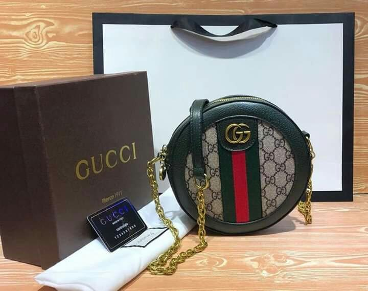 751ec4c6e Gucci round sling bag on Carousell