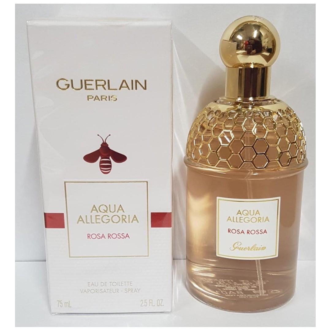 De Women 75ml Allegoria Eau Rossa For Rosa Spray Aqua Guerlain Parfum K3luJF1Tc